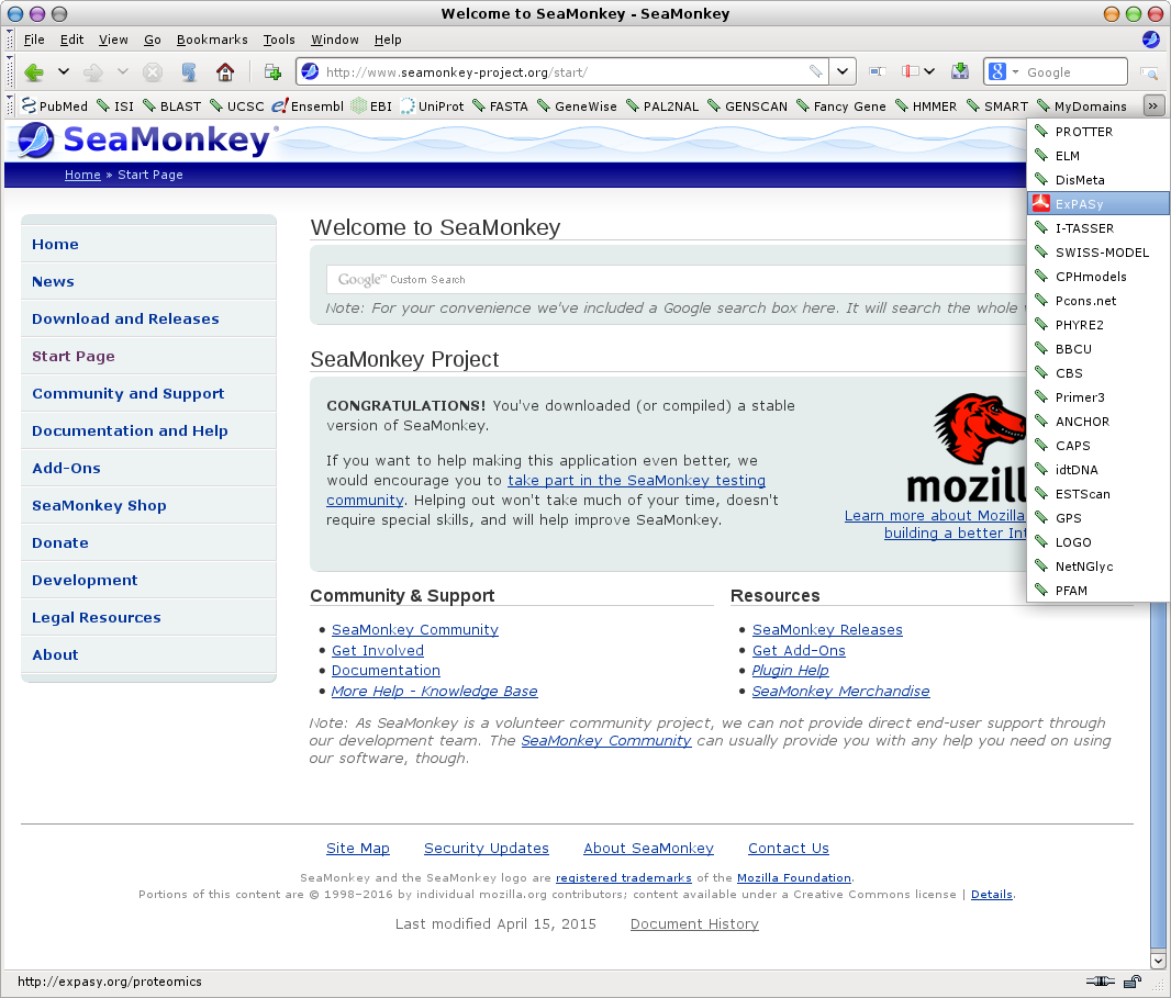 how to add icon to mozilla bookmark toolbar